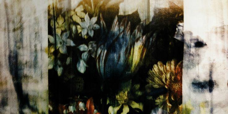 Captured Florals Mural by Emmeline Kellett
