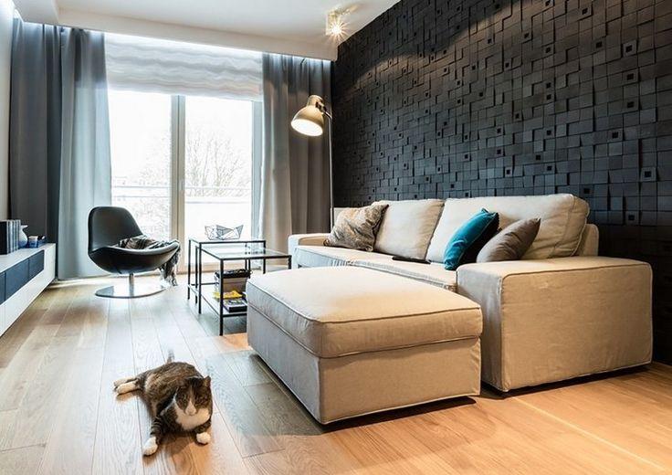 die besten 17 ideen zu wandpaneele auf pinterest akzentwand bettw sche schwarz wei und. Black Bedroom Furniture Sets. Home Design Ideas