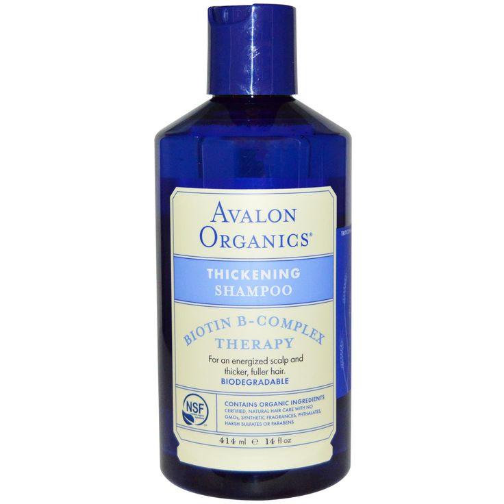 Avalon Organics, Biotin B-Complex Therapy, Thickening Shampoo, 14 fl oz (414 ml)  From Iherb coupon code YUY952 -   Visit iherb specials for latest discounts: http://www.iherb.com/specials?rcode=yuy952