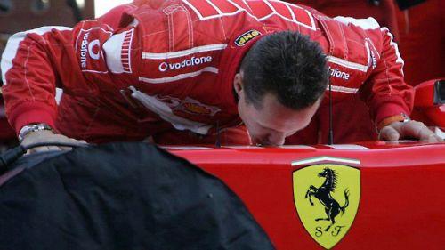 Michael Schumacher - Ferrari.Su amor verdadero