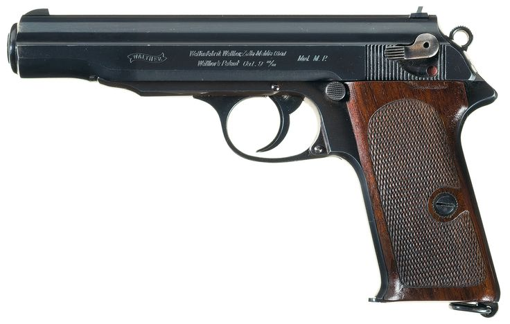 "Extremely Rare Documented Experimental Walther Mod. MP (""MP/PP"") Semi-Automatic Pistol"