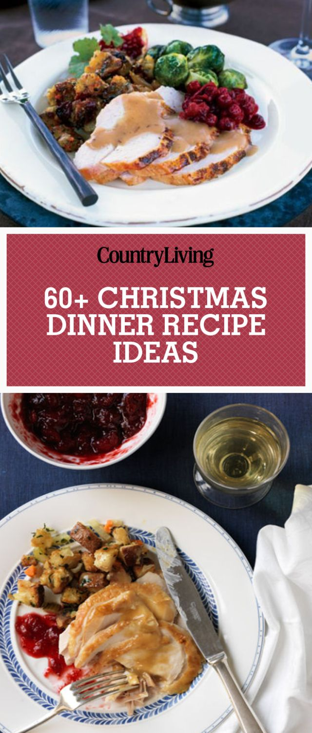 Get our best ideas for Christmas dinner, including ham recipes, turkey recipes, and side dishes.
