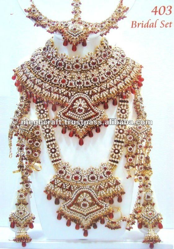 Kundan Jewellery Indian Jewelry Sets Wedding Bridal