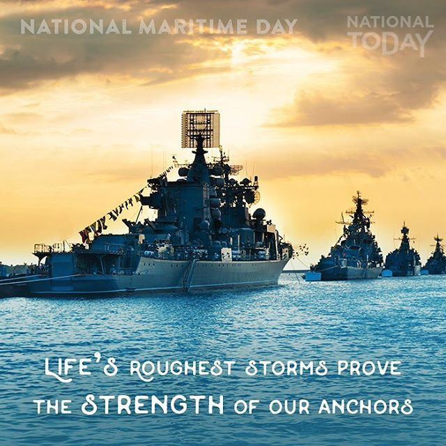 Happy National Maritime Day Will You Attend A Commemorative Service Nationalmaritimeday Maritime Boat Saili National Maritime Day Navy Ships Maritime