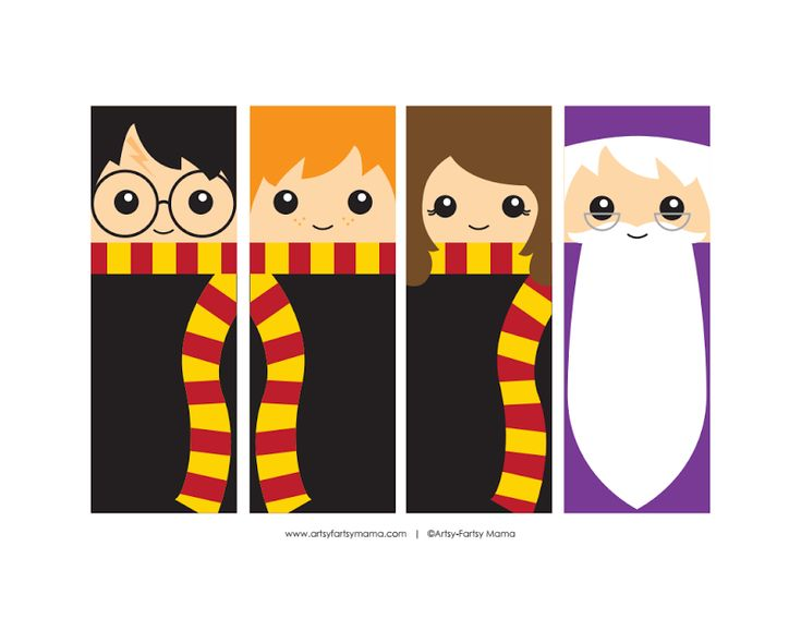 Unforgettable image throughout free printable harry potter bookmarks