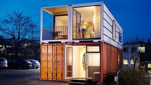 Container Home By Containerwerk Container Hauser Architektur Wohnungsbau