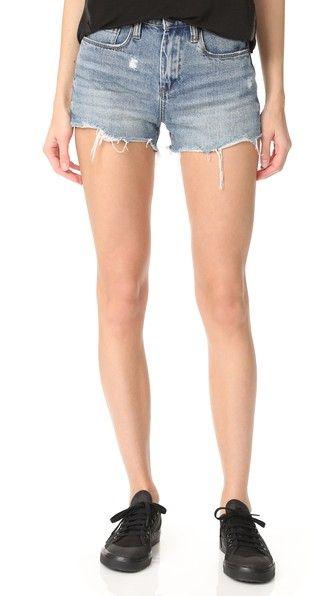 BLANK DENIM High Rise Ms. Throwback Shorts. #blankdenim #cloth #dress #top #shirt #sweater #skirt #beachwear #activewear
