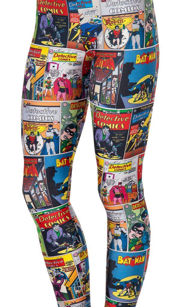Batman Comic Leggins
