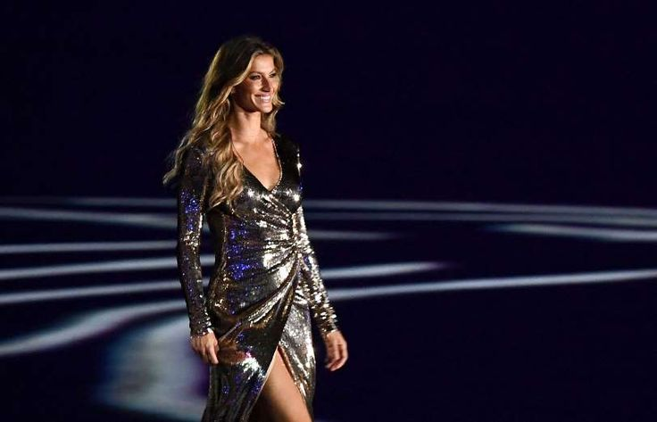 2016 Summer Olympics opening ceremony:  August 5, 2016  -    Gisele Bundchen