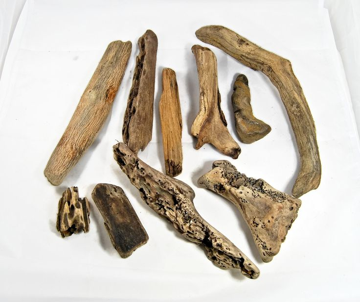 10 Driftwood Sticks, Driftwood Art, Beach Crafts, Beach Decor, Driftwood assortment, Craft Driftwood, Driftwood supply, Natural beach decor by Scandicreations on Etsy