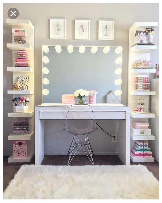 Best 27 Diy Simple Makeup Room Ideas Organizer Storage And 400 x 300