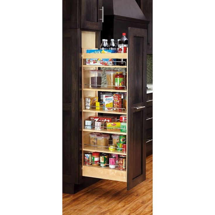 335 best images about kitchen ideas inspiration on for Best pantry shelving system