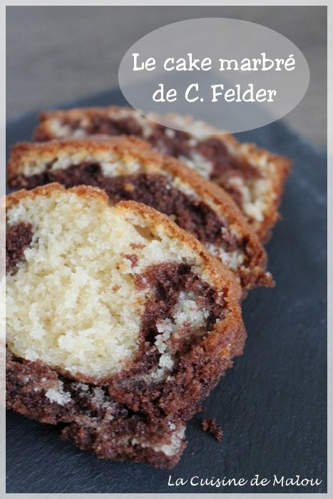 Mercredi, une envie de cake, d'un gâteau bien moelleux, qui fait du bien ! En réfléchissant à ce que je pourrais faire, je me rappelle du fameux cake marbré de Christophe Felder, chef pâtissier alsacien que j'apprécie beaucoup par ces recettes accessibles et... #cakes #chocolat #christophefelder