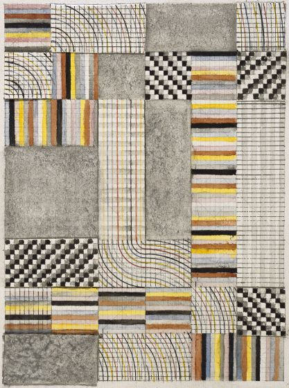 Anni Albers, Design for a rug, 1925