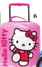 Hello Kitty Rolling Luggage for Kids from Sears Catalogue  $24.99