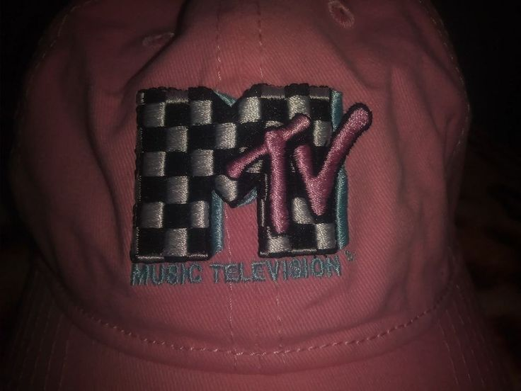 official Mtv Music Television pink baseball cap  with logo nwt Forever 21  | eBay
