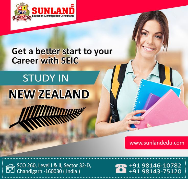 #chandigarhnning for #study in #New #Zealand?  Get a better start to your Career with #Sunland #Education and #Immigration #Consultants Here our #counselors help you to find the #right #course which will fit for your #requirement.  Call us or whatsapp today at +91-9814610782, +91-9814375120, +91-9855158431 Visit our website:-  http://sunlandedu.com/ Address:- SCO - 260, Sector 32-D, #Chandigarh