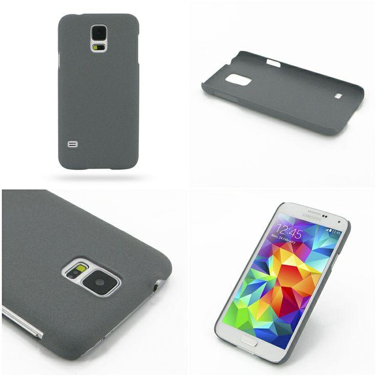 PDair Shield Hard Case for Samsung Galaxy S5 SM-G900 (Grey/Matte)