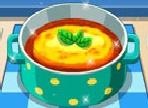 Ecco a voi una nuova ricetta per sorprendere i vostri ospiti. Tutte le istruzioni vi aiuteranno a preparare una deliziosa zuppa da servire come antipasto o come primo piatto!