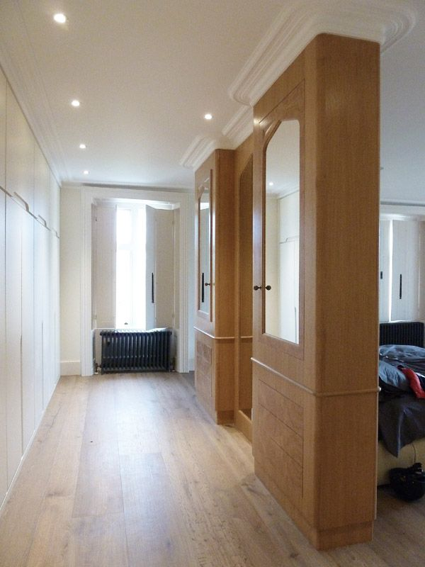 Bespoke Wardrobes Dressing Room Witcher Crawford Architects And Designers Winchester Hampshire