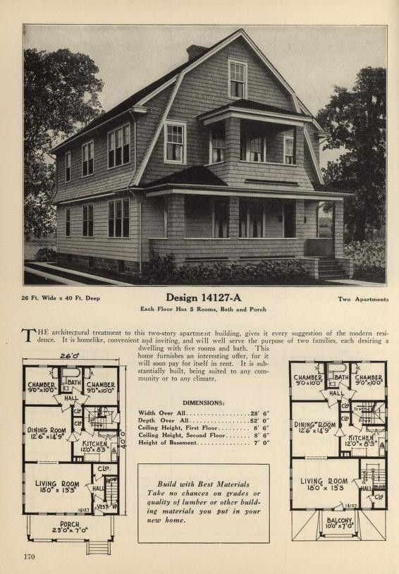 Pin By Theresa Miller On House Plans Vintage House Plans Building A House House Plans