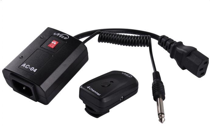 Радиосинхронизатор NiceFoto AC-16A  (штекер Φ6.35мм, частота 433 Mhz, 16 каналов)