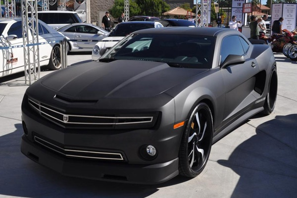 For When I Get My Muscle Car Matte Black Camaro Cars
