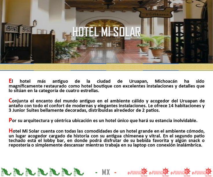 URUAPAN - Hotel Mi Solar