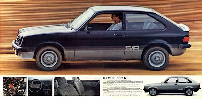 1981 - GM Chevette Hatch S/R