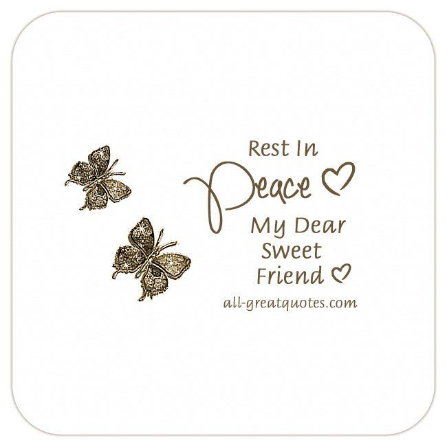 Happy Birthday And Rest In Peace Quotes: Share Beautiful, Free Sympathy Cards With Heartfelt