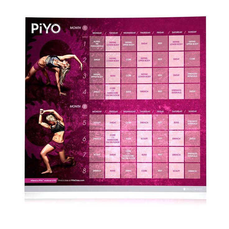 7 best piyo calendar images on pinterest piyo workout calendar amazon chalene johnsons piyo base kit dvd workout with exercise videos saigontimesfo