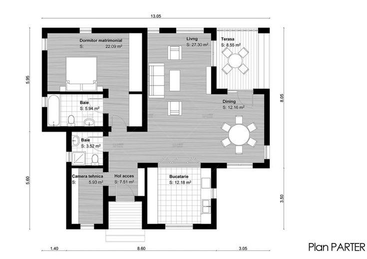 case tineresti cu aer modern Young couple modern homes 6