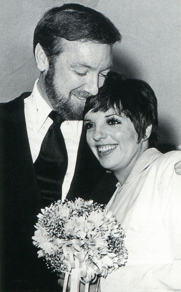 """1974 wedding of Singer/ActressLiza Minnelli & Jack Haley Jr.  Liza is the daughter of Judy Garland who was famous for her role as Dorthory in the movie """"The Wizaed of Oz""""."""