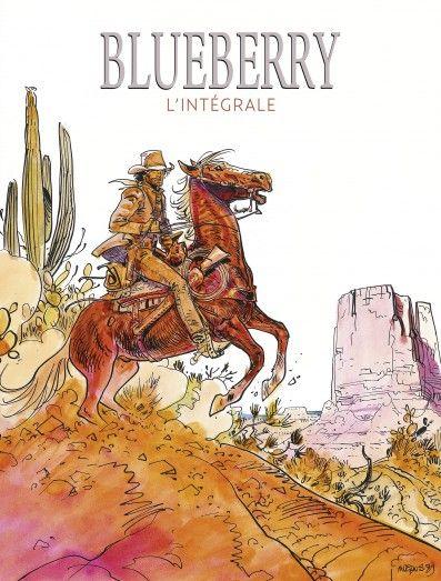 Blueberry, intégrale des 28 tomes par Charlier et Giraud. Sortie le 7 novembre 2014.