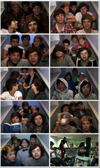 video diary  in honor of the One Direction video diaries. R.I.P. I miss those videos so much!!!