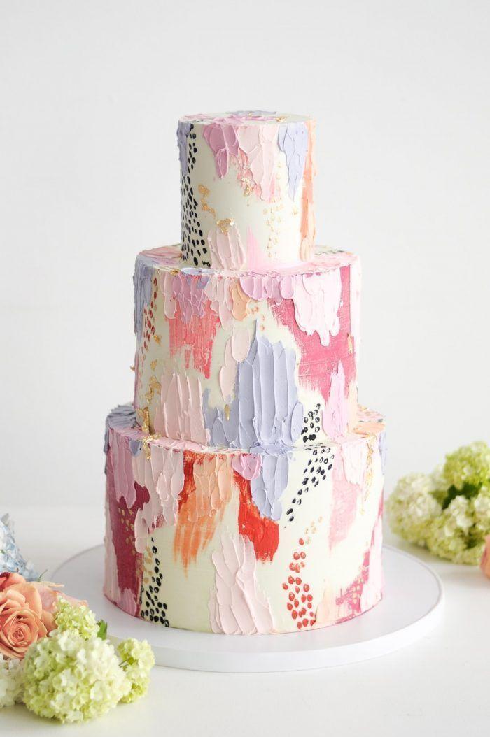 Designer-Hochzeitstorten & Bridal Shower Cakes – Sweet   – ❤ baking – #amp #ba…   – Kuchendesign