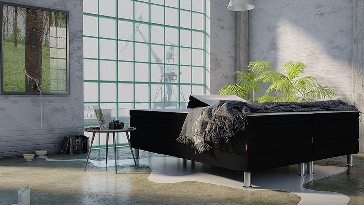 3d-empire.dk - Produkt billeder | Mindmill - Dunlopillo seng | For Mindmill har vi lavet et billede af en Dunlopillo seng til brug i TV- reklame.