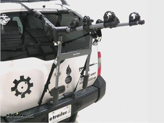 SportRack 3 Bike Rack for Vans and SUVs - Trunk Mount - Adjustable Dual Arms SportRack Trunk Bike Racks SR3141