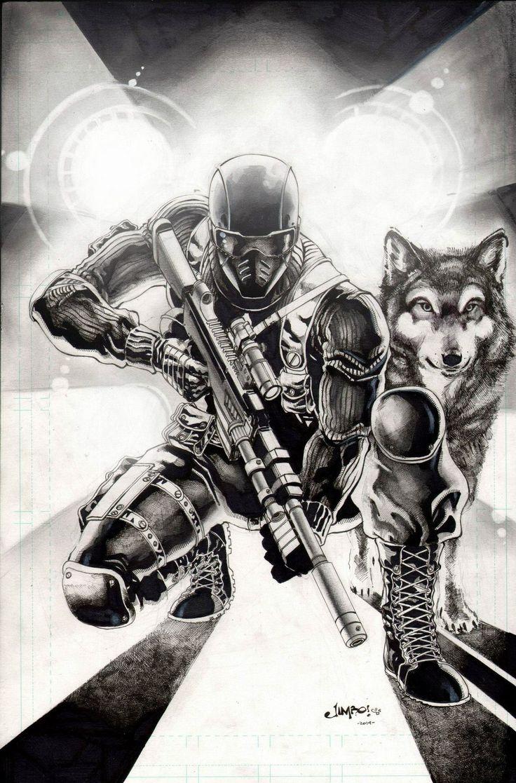 G.I. Joe - Snake Eyes and Timber by Jimbo Salgado *