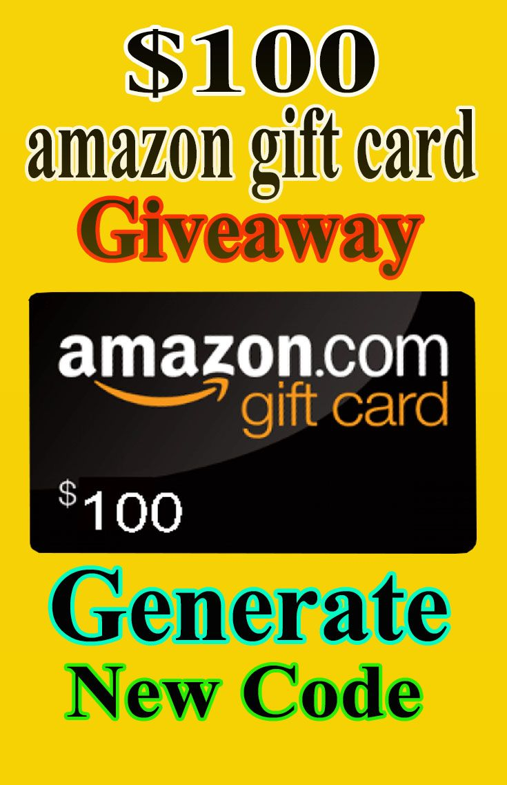 Get Free 100 Amazon Gift Card Code Please Visit The Pin Link To