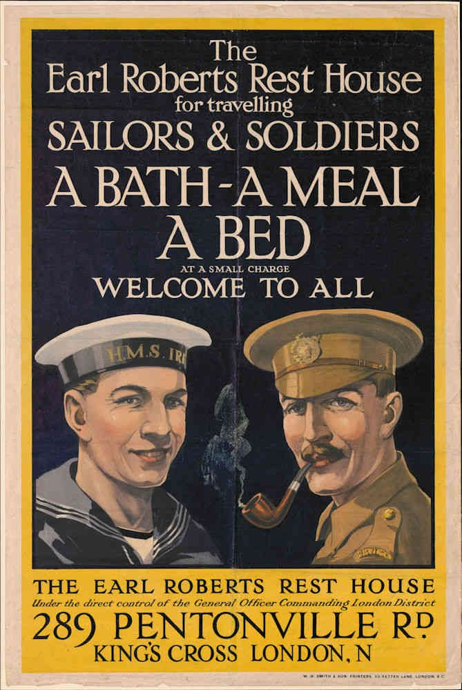 A selection of propaganda posters from the First World War