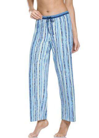 Jockey Sea Stripe Sleep Pant, Blue/Green Stripe, M Jockey. $38.00