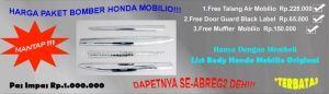 Paket List Body Honda Mobilio + Bonus Fantastik