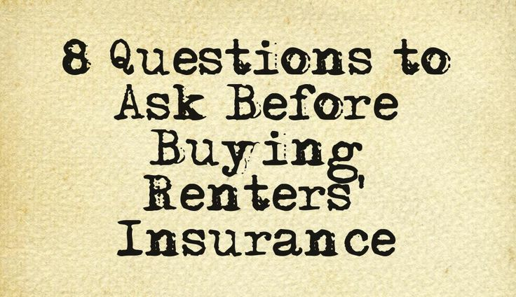 Here are 8 questions your must ask before buying renters' #insurance in #NYC! #realestate