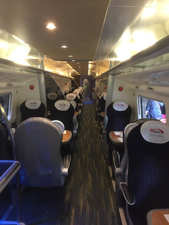 First rate First Class  - Review of Virgin Trains, London, England