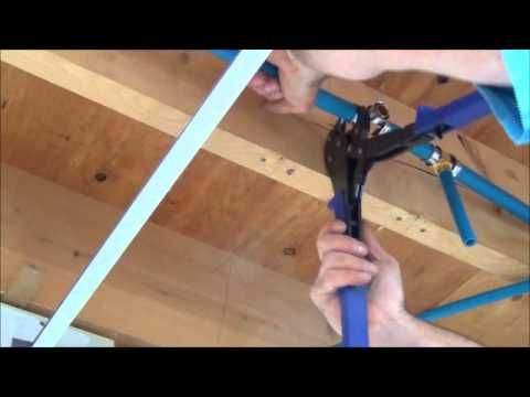 How to Install Pex Pipe Waterlines in Your Home. Part 2. Plumbing Tips! - YouTube