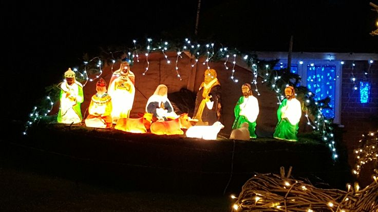 11 best haughton christmas light 2016 images on pinterest nativity scene lights aloadofball Choice Image