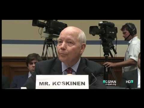 7/22/14 Rep. Trey Gowdy (R-SC) tore into IRS Commissioner John Koskinen at a House Oversight and Government Reform subcommittee hearing Wednesday in Washington DC. The hearing was a continuation of the investigation of IRS targeting of conservative groups. Koskinen brought his familiar smirk with him to the hearing today.