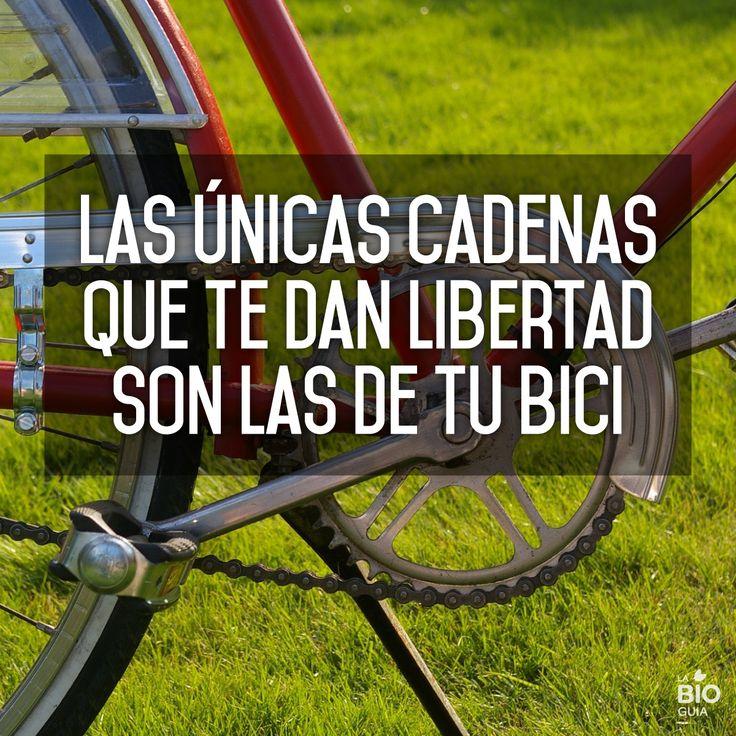 #Frases #Quotes  #inspirational #libertad #freedom #cadenas #bicicleta