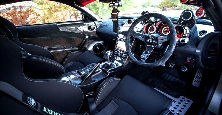 Nissan 350z Interior Takata Drift 3 Harnesses Black Sparco Chrono Road Seats Z Pinterest